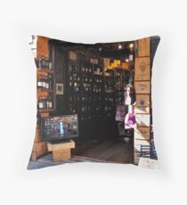 Enoteca Throw Pillow