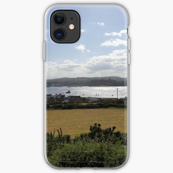 View from Portaferry Windmill County Down Northern Ireland iPhone Soft Case