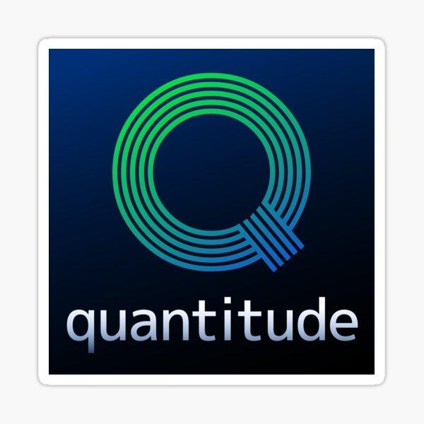 Quantitude Sticker Sticker