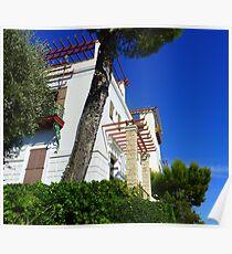 Outside The Villa Poster