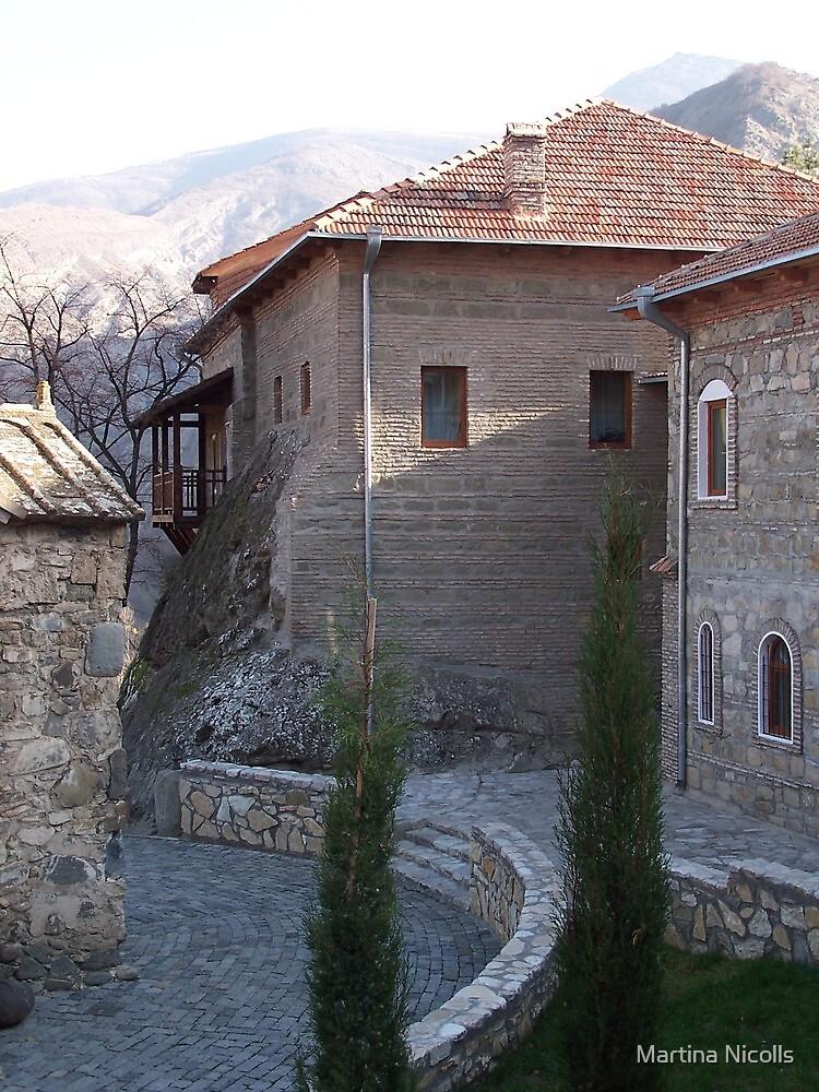 Gori Monastery, Georgia by Martina Nicolls