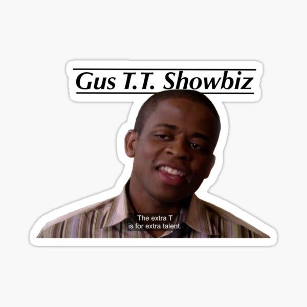 Gus T.T. Showbiz Sticker