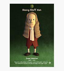 Isaac Newton - Heavy Stuff Man Photographic Print