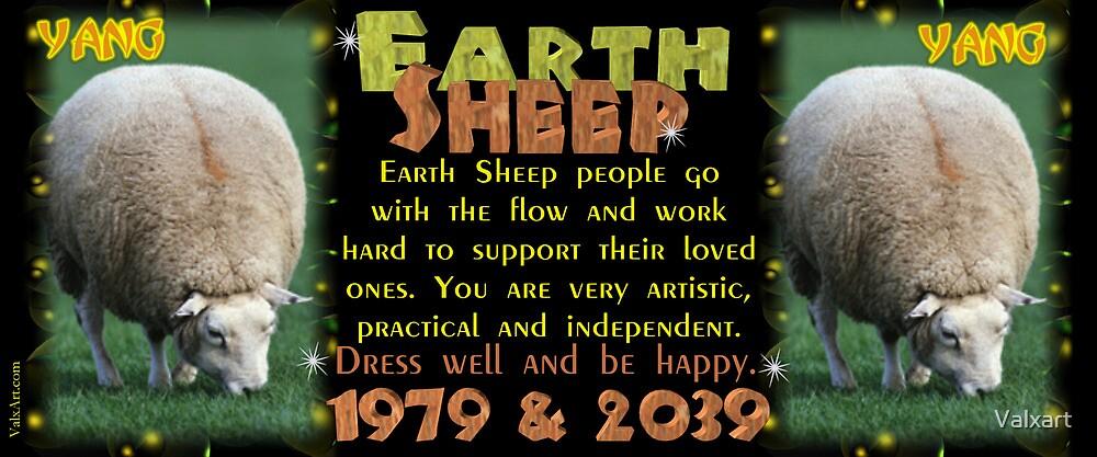 Chinese Zodiac, earth sheep, born 1979, 2019, Valxart by Valxart