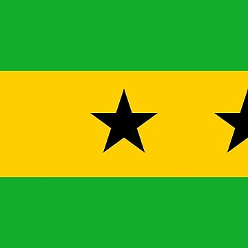 Flag of São Tomé and Príncipe by abbeyz71