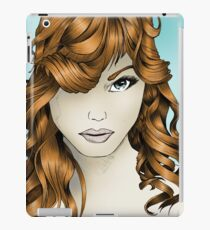 The Intriguing Woman... with Red Hair iPad Case/Skin