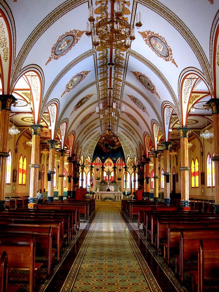 Church in Zarcero by LaurelMuldowney