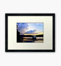 Paradox Lakefront Framed Print