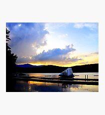 Paradox Lakefront Photographic Print