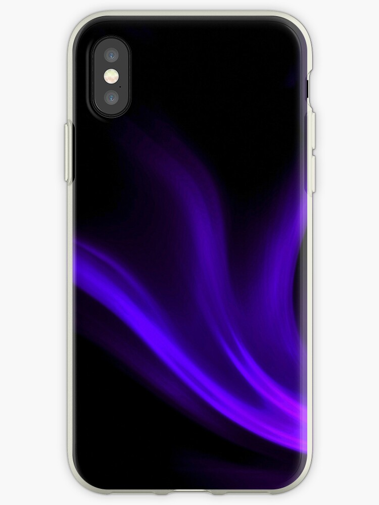 Violet Wave - iPhone by Sandra Chung