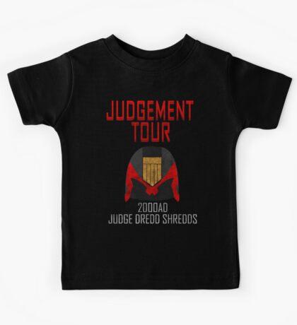 Judge Dredd Shredds Kids Clothes