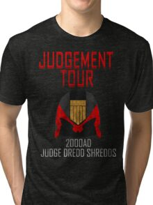 Judge Dredd Shredds Tri-blend T-Shirt