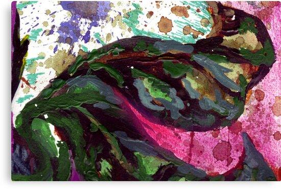 dark green leaves by sebmcnulty