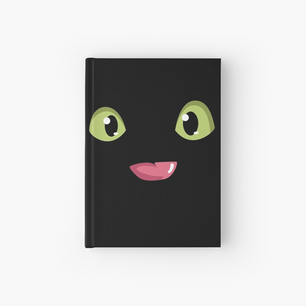 Toothless Dragon Hardcover Journal By Paulem Redbubble