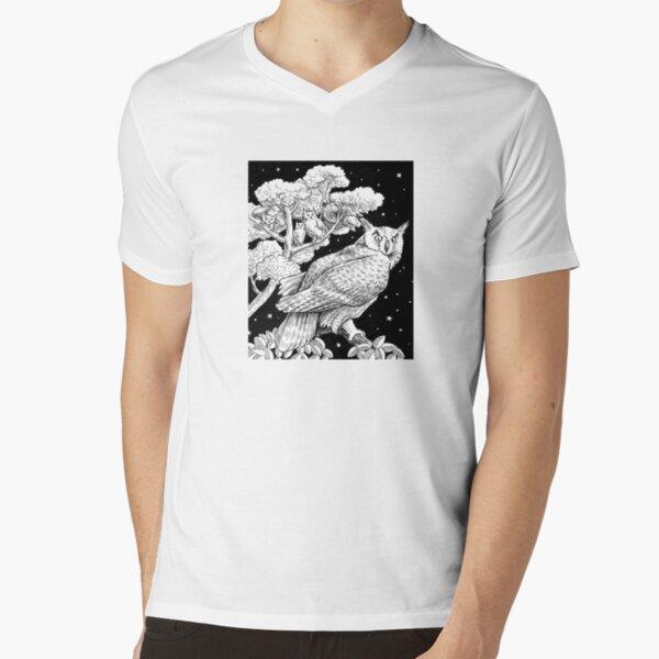 The Night Owl V-Neck T-Shirt