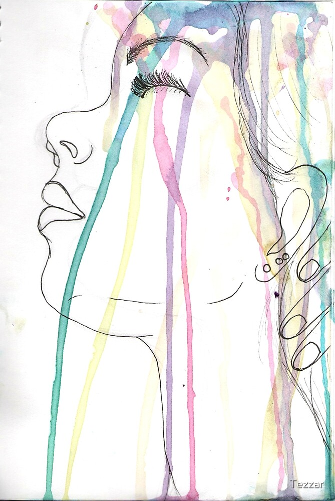 Showering in colour by Tezzar