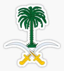 Emblem of Saudi Arabia  Sticker