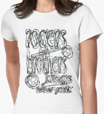 kings of new york by rogers brothers Women's Fitted T-Shirt