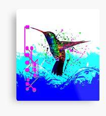 hummingbird Program Metal Print