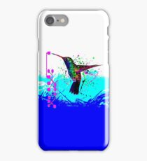 hummingbird Program iPhone Case/Skin