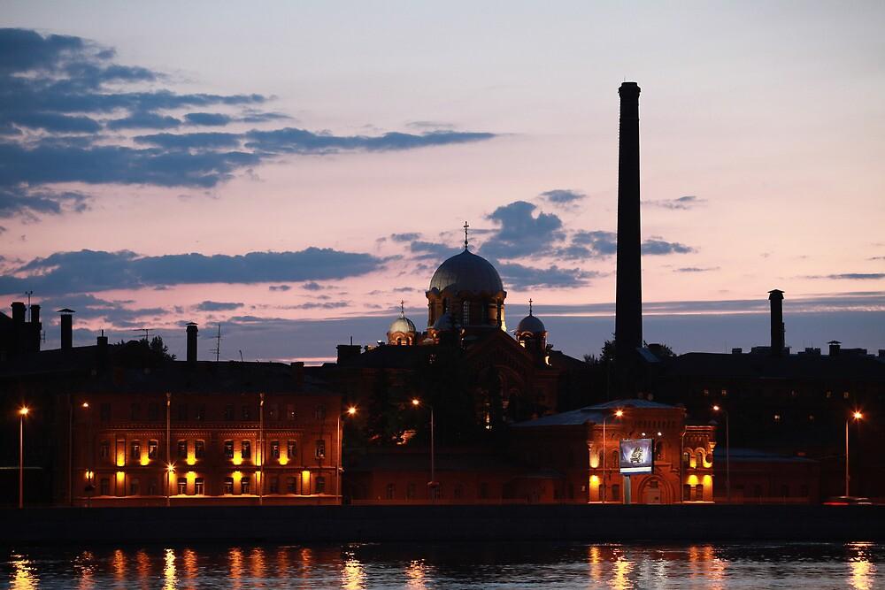 night cityscape by mrivserg