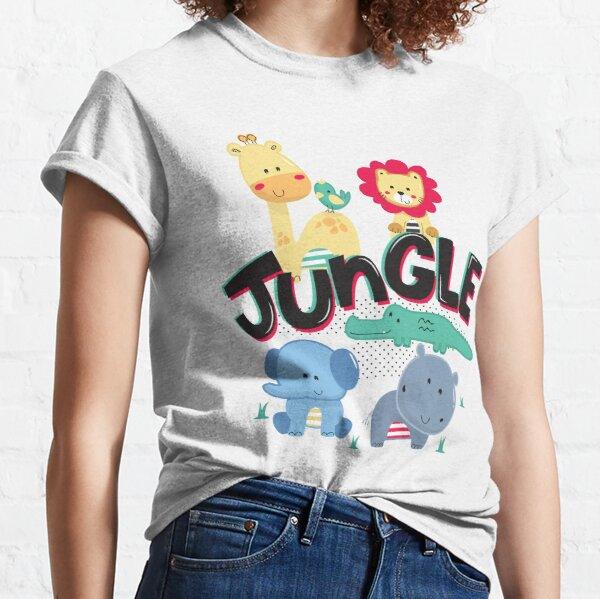 Little Jungle Animals Classic T-Shirt