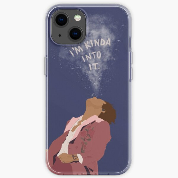 Harry Spitting Water Portrait iPhone Soft Case
