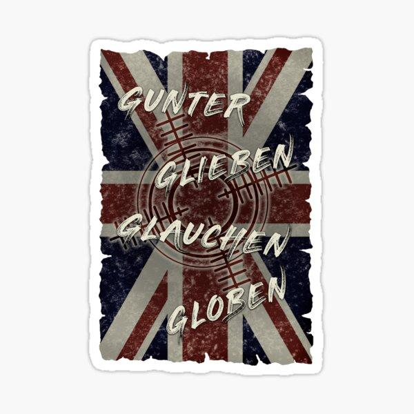 Gunter Glieben Glauchen Globen Sticker