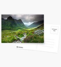 Scotland: Glencoe Valley Summer Postcards