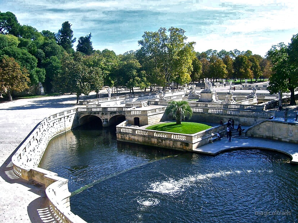 Jardins de la Fontaine, France by magicaltrails
