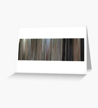 Moviebarcode: One Flew Over the Cuckoo's Nest (1975) Greeting Card