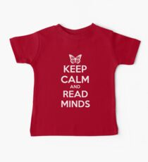 Keep Calm and Read Minds Baby Tee