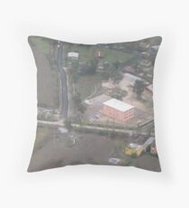 A view in Adana Throw Pillow