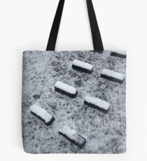 Lock footholds with snow Tote Bag