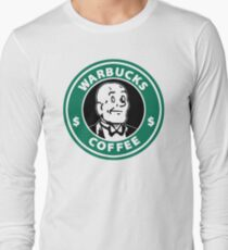 Warbucks Coffee Long Sleeve T-Shirt