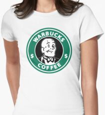 Warbucks Coffee Women's Fitted T-Shirt
