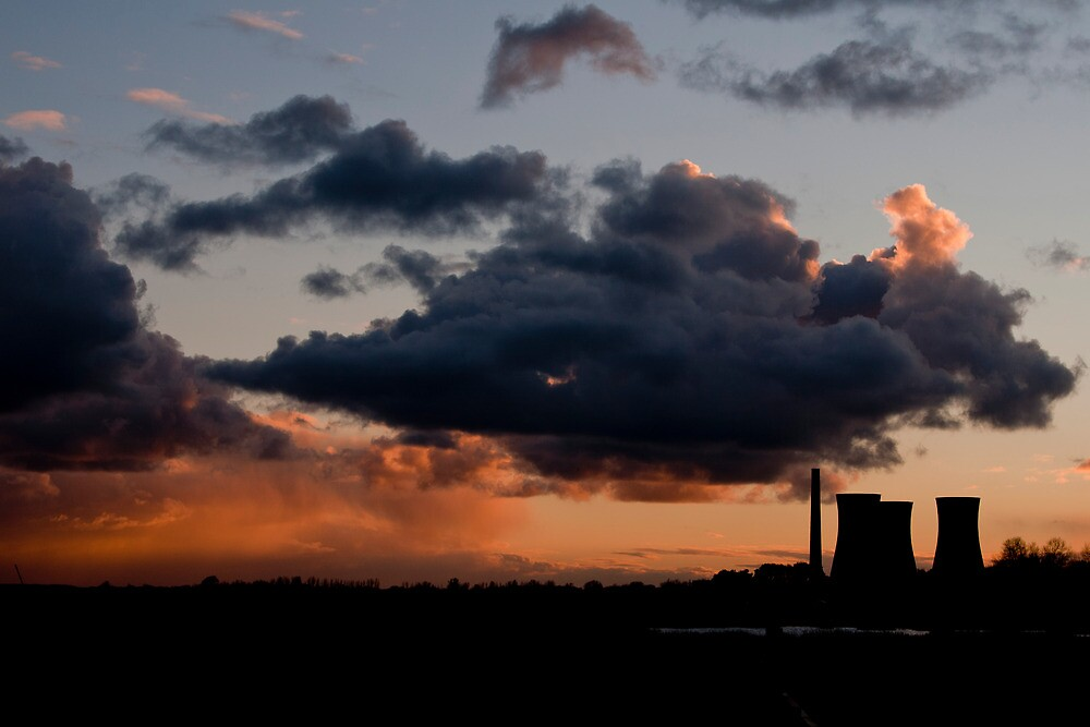Richborough Cooling Towers by SmithsPictures