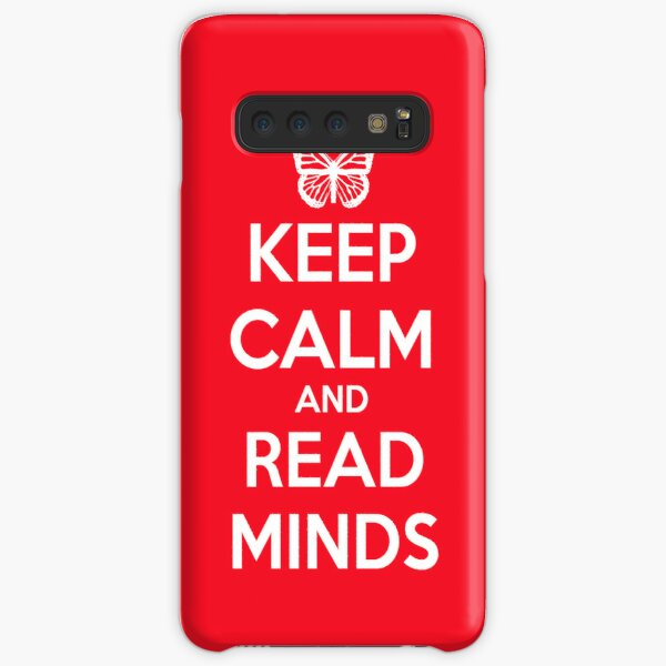 Keep Calm and Read Minds Samsung Galaxy Snap Case
