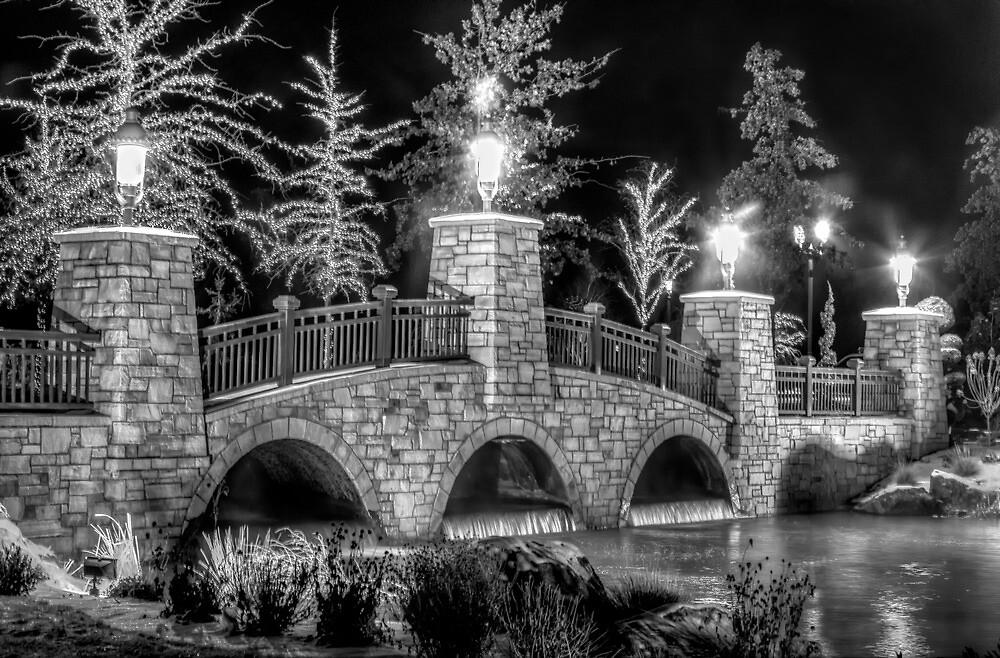 Bridge at Night by Bob Vaughan