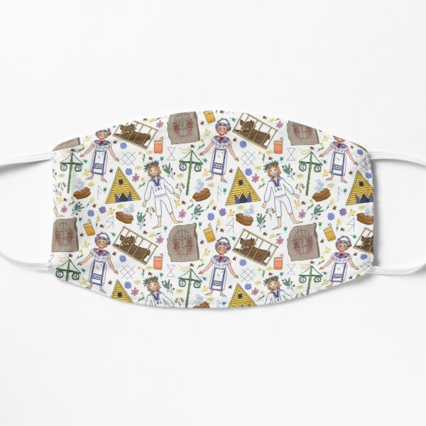 Midsommar Pattern #1 (No Background Variation)  Mask
