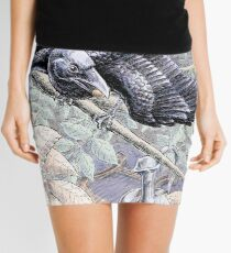 The Crow and the Pitcher Mini Skirt