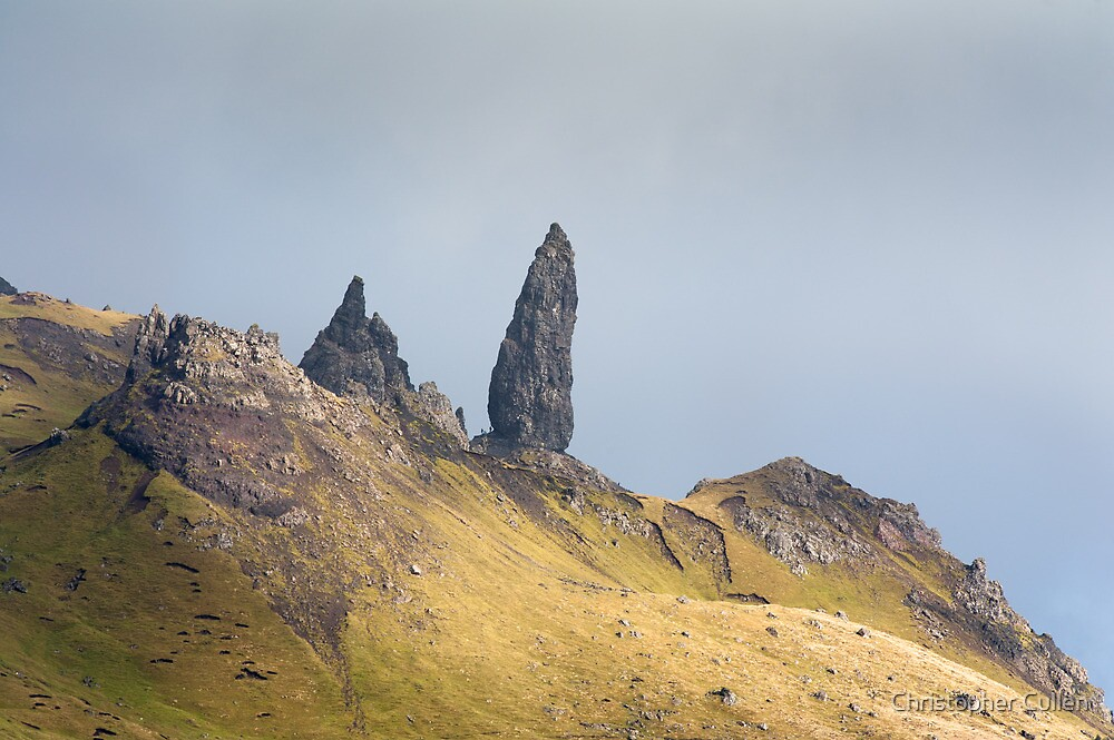Old Man of Storr by Christopher Cullen
