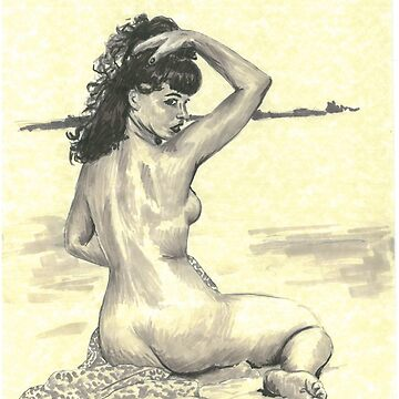 Bettie Page by tonito21