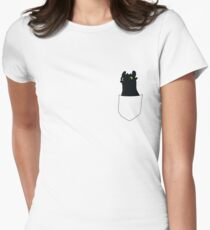 TOOTHLESS DRAGON Women's Fitted T-Shirt