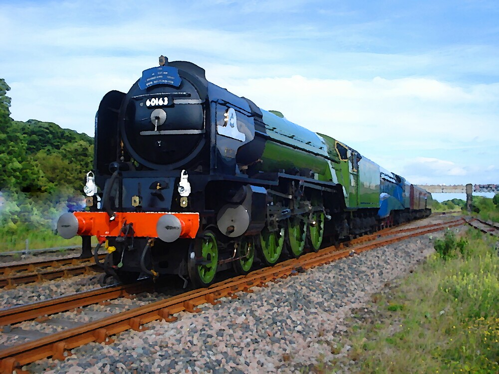 Flying Scotsman Train by chawus