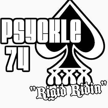 Psyckle tee by Psyckle74