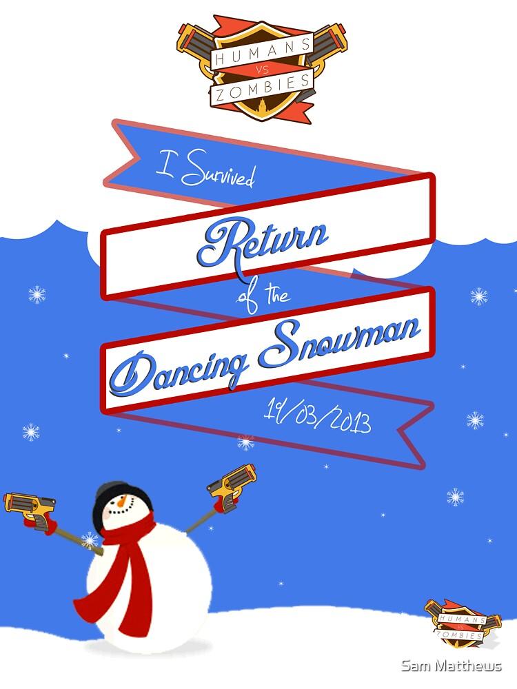 Rhul HvZ // Return of the Dancing Snowman | 19/01/2013 by sammatthews91