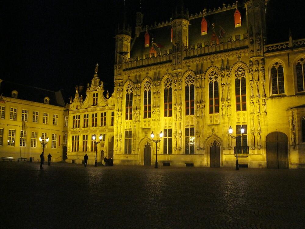 Central Square, Brugge, Belgium by stevenw888