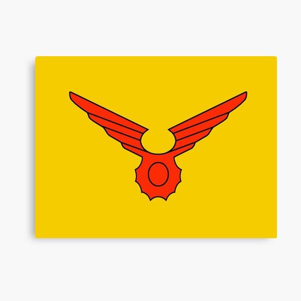 Birdman Crest Canvas Print