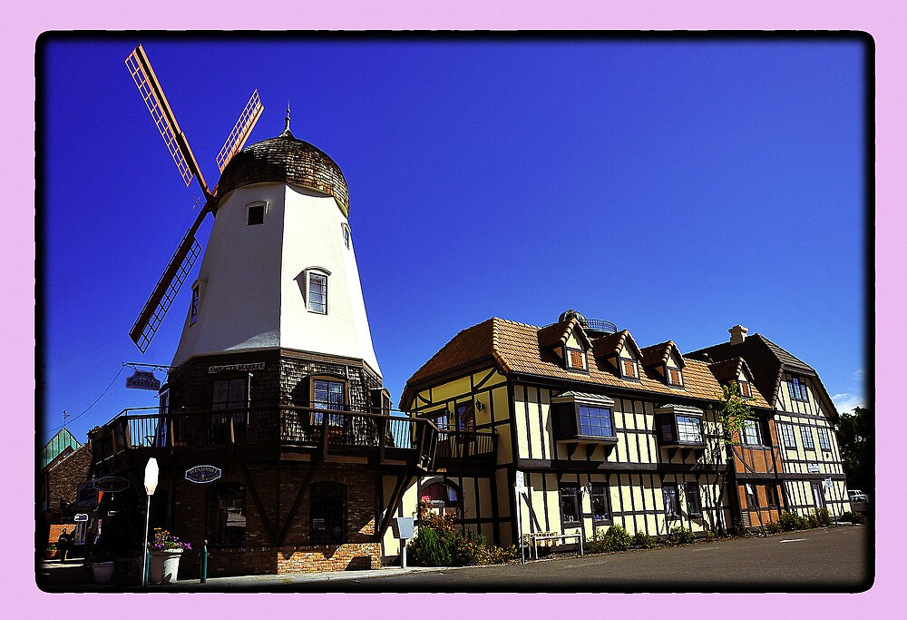 Postcard from Solvang by amira